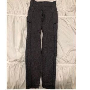 Lululemon Size 4 Leggings Grey